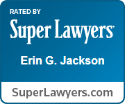 Rated by Super Lawyers - Erin G. Jackson